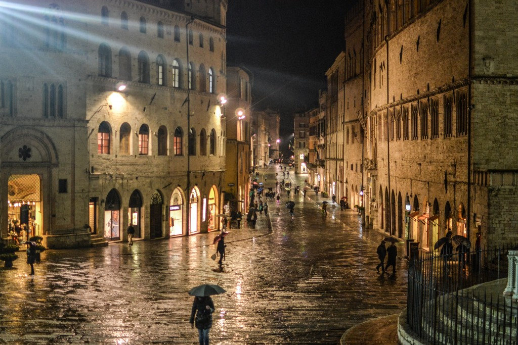 Perugia by night with private guide