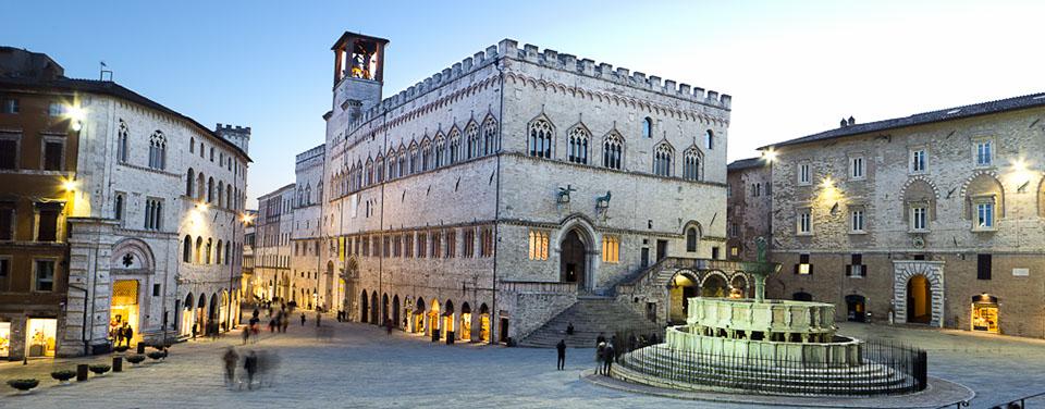 Perugia private tour from Rome