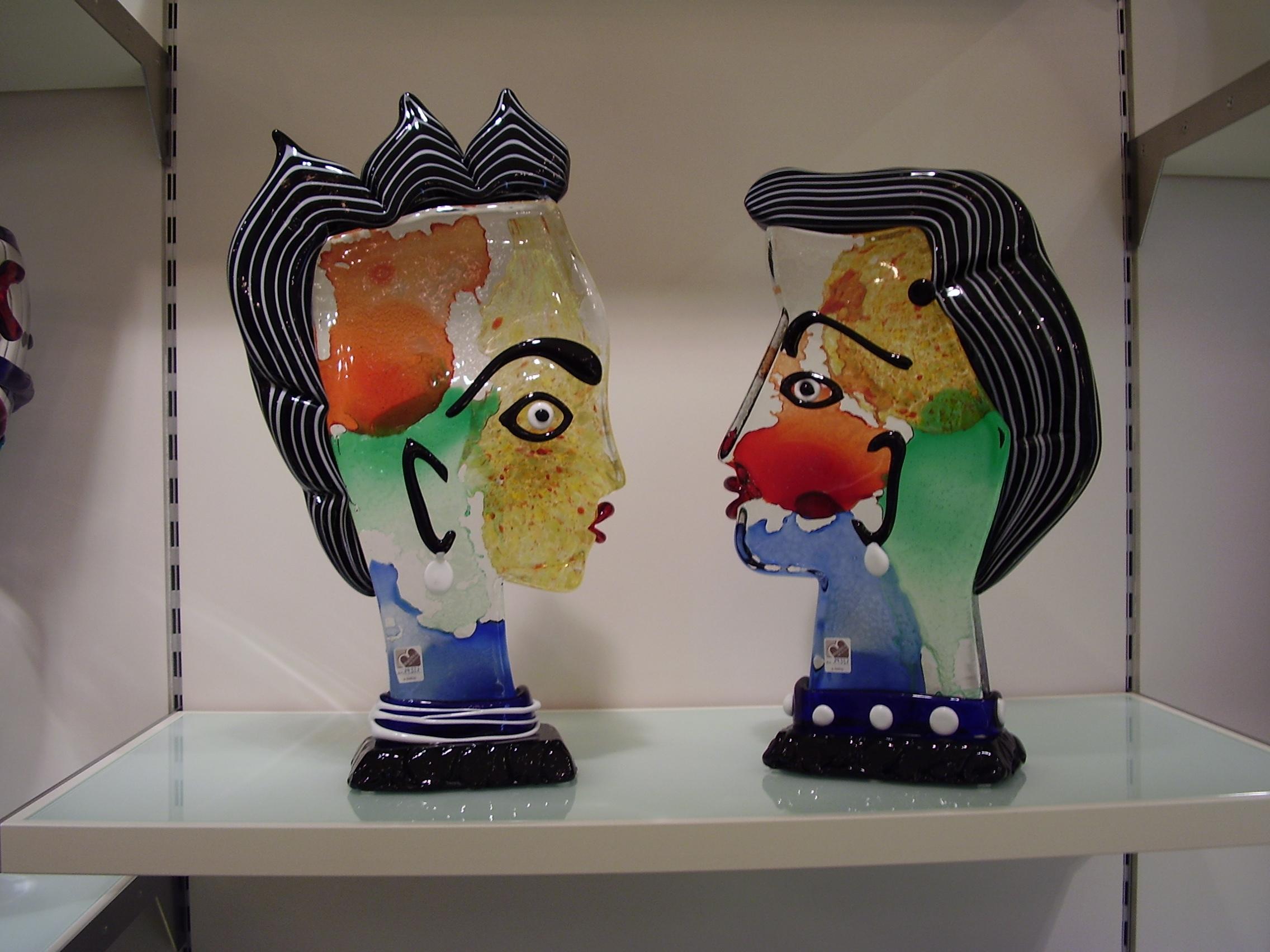 Sculpture en verre de Picasso - Visite privée de Venise