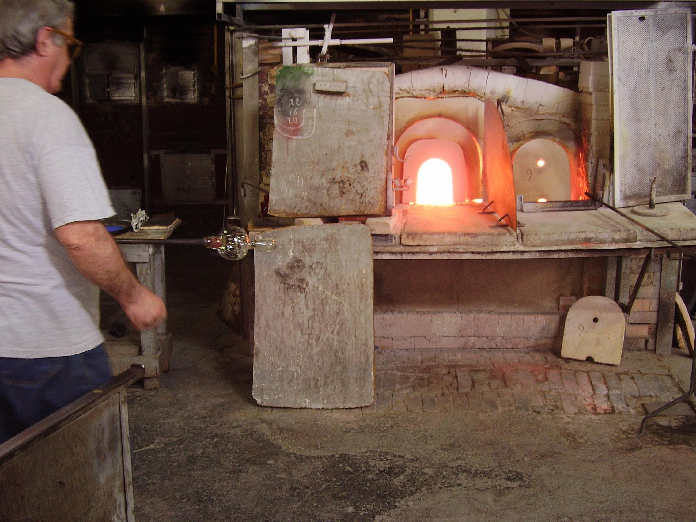 Murano - création artisanale du début à la fin - Excursion en Italie