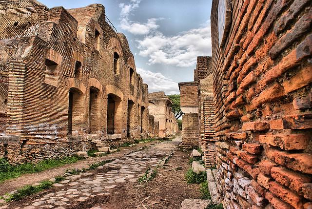 Античный город Остия