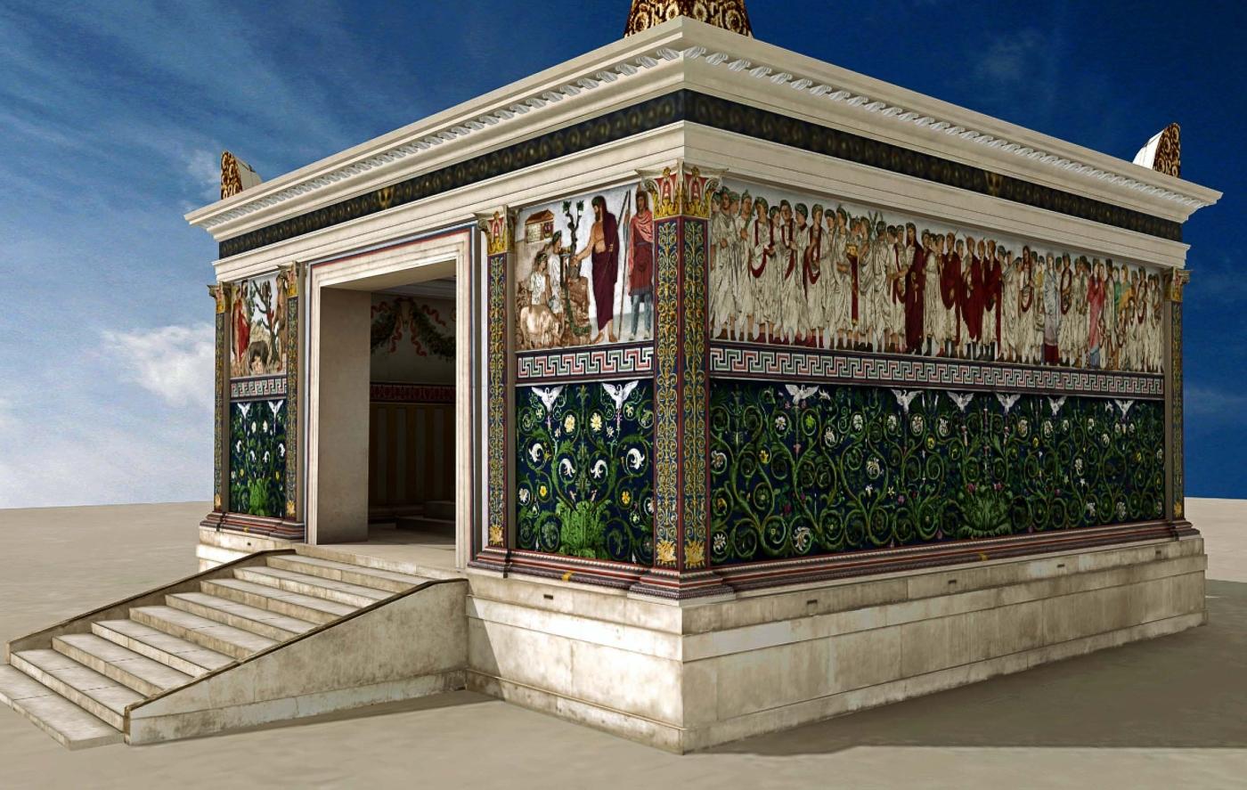 Арапачис в Риме