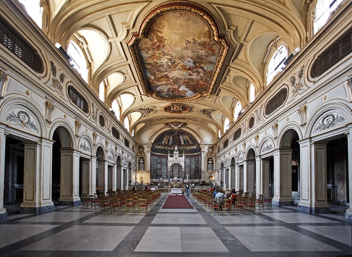 Базилика Санта Чечилия - Гид по Риму