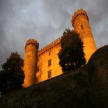 Браччано - Замок Одескальки XII веке