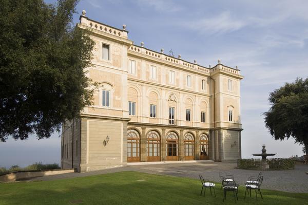 Вилла Грациоли - Римские замки