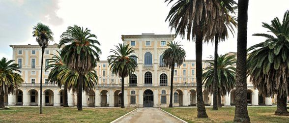 Градините на Палацо Корсини в Рим