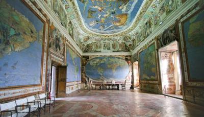 Зал карт в Палацо Фарнезе - Капрарола - Экскурсии из Рима