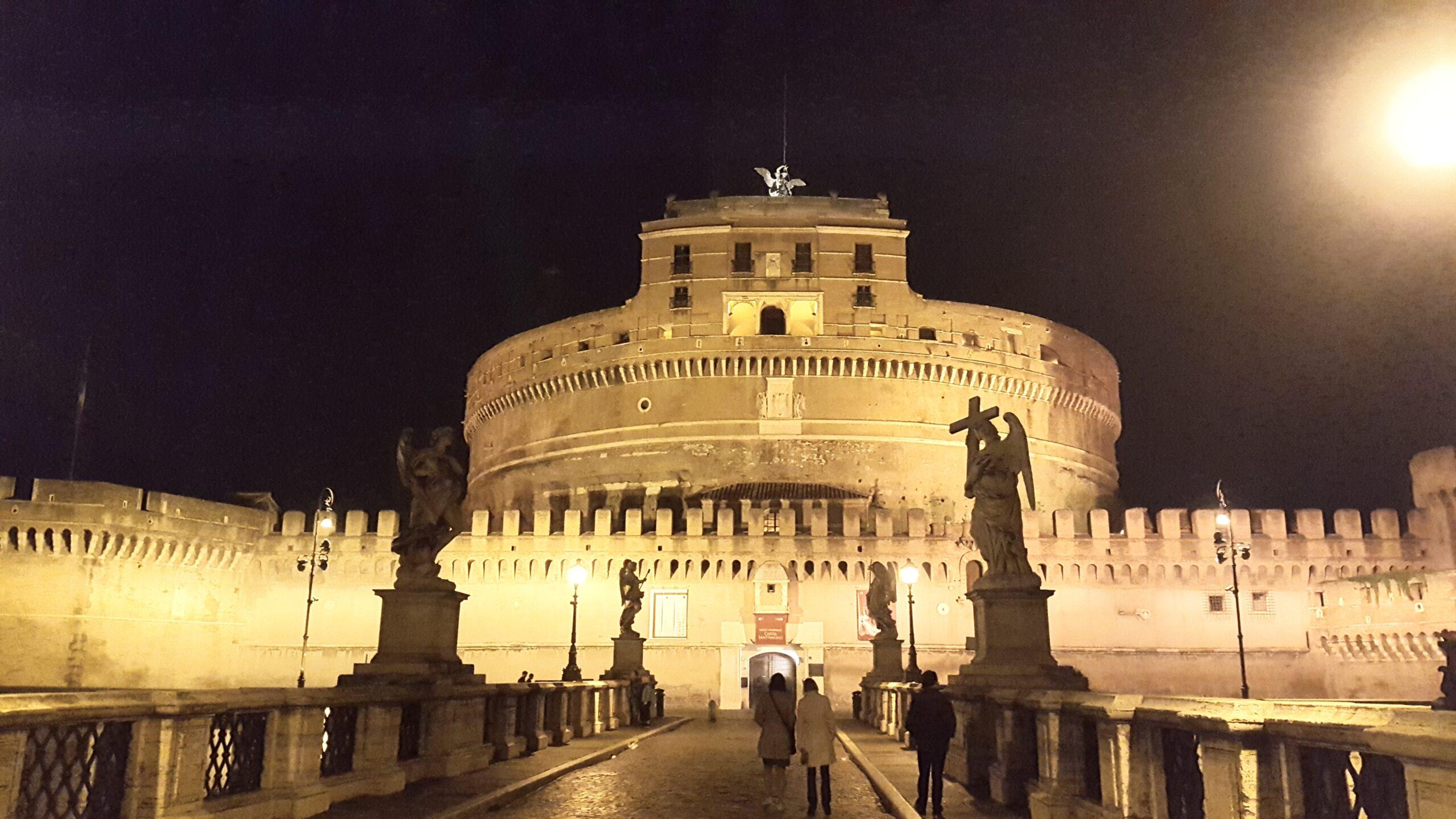 Замок Сант Анджело - Ночной Рим