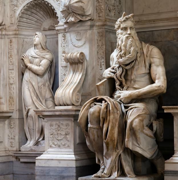 Моисей Микеланджело - Сан Пиетро ин Винколи - Рим