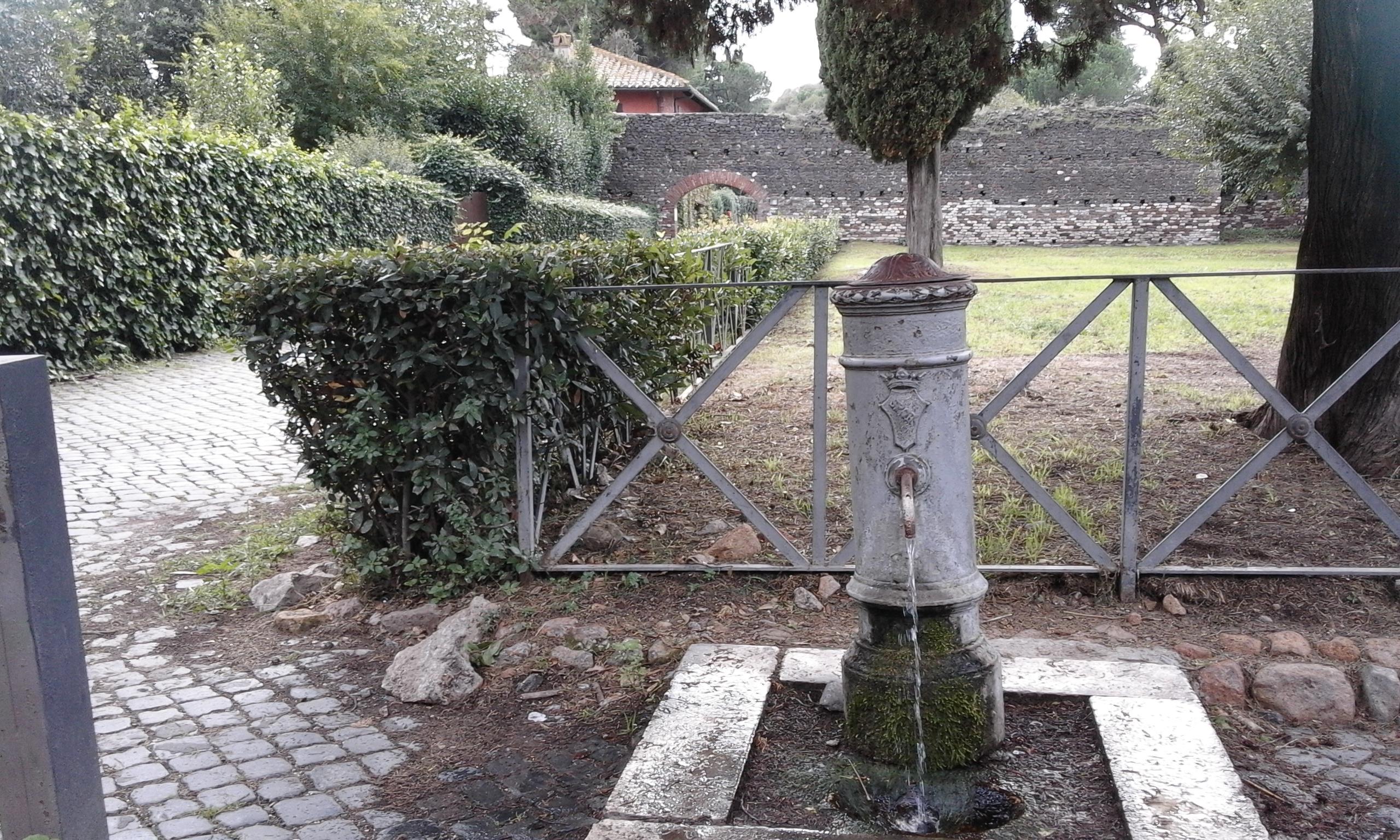 Началото на римския път Аппия Антика от Рим до Сирия