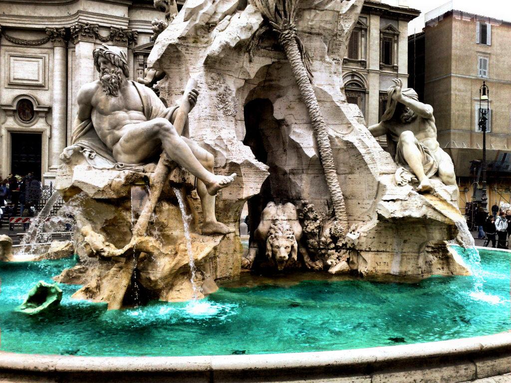 Пьяцца Навона - Рим - Русские частные гиды в Риме