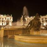 Пьяцца-Республика-Ночной Рим