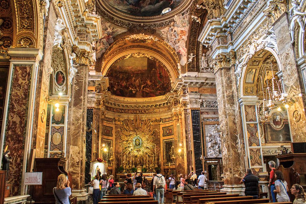 Санта Мария делла Виттория - Екскурзия в Рим