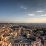 Святой Петр - Ночной Рим
