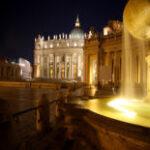 Собор Святого Петра - Ночной Рим