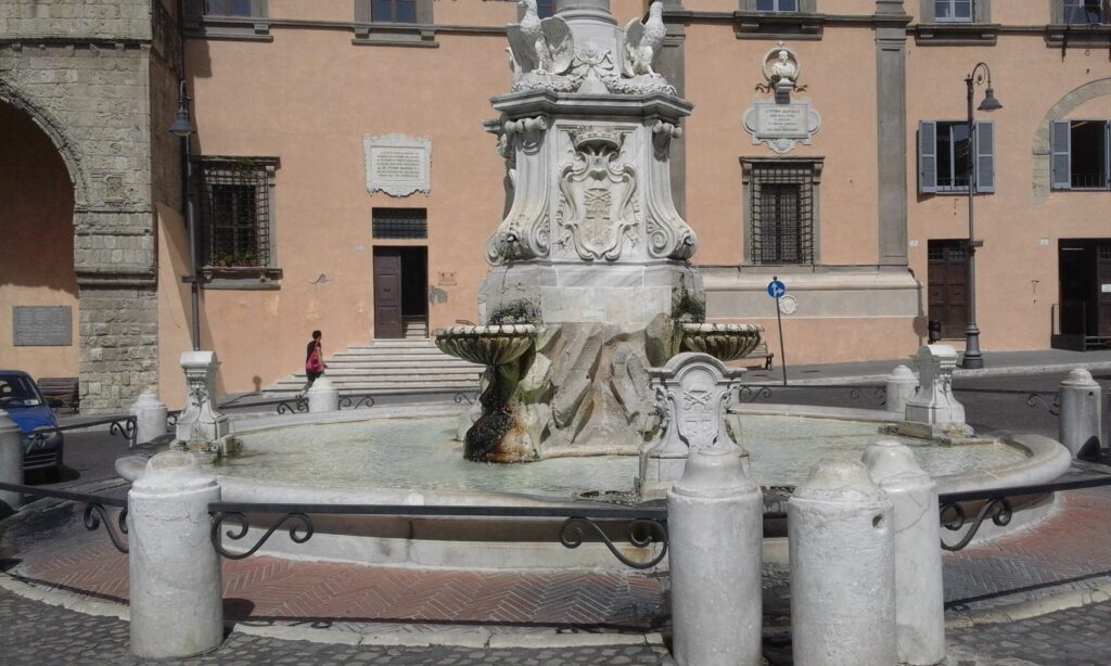 Фонтан в Тарквинию - Экскурсии в Лацио