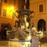 Фонт черепах - Ночной Рим