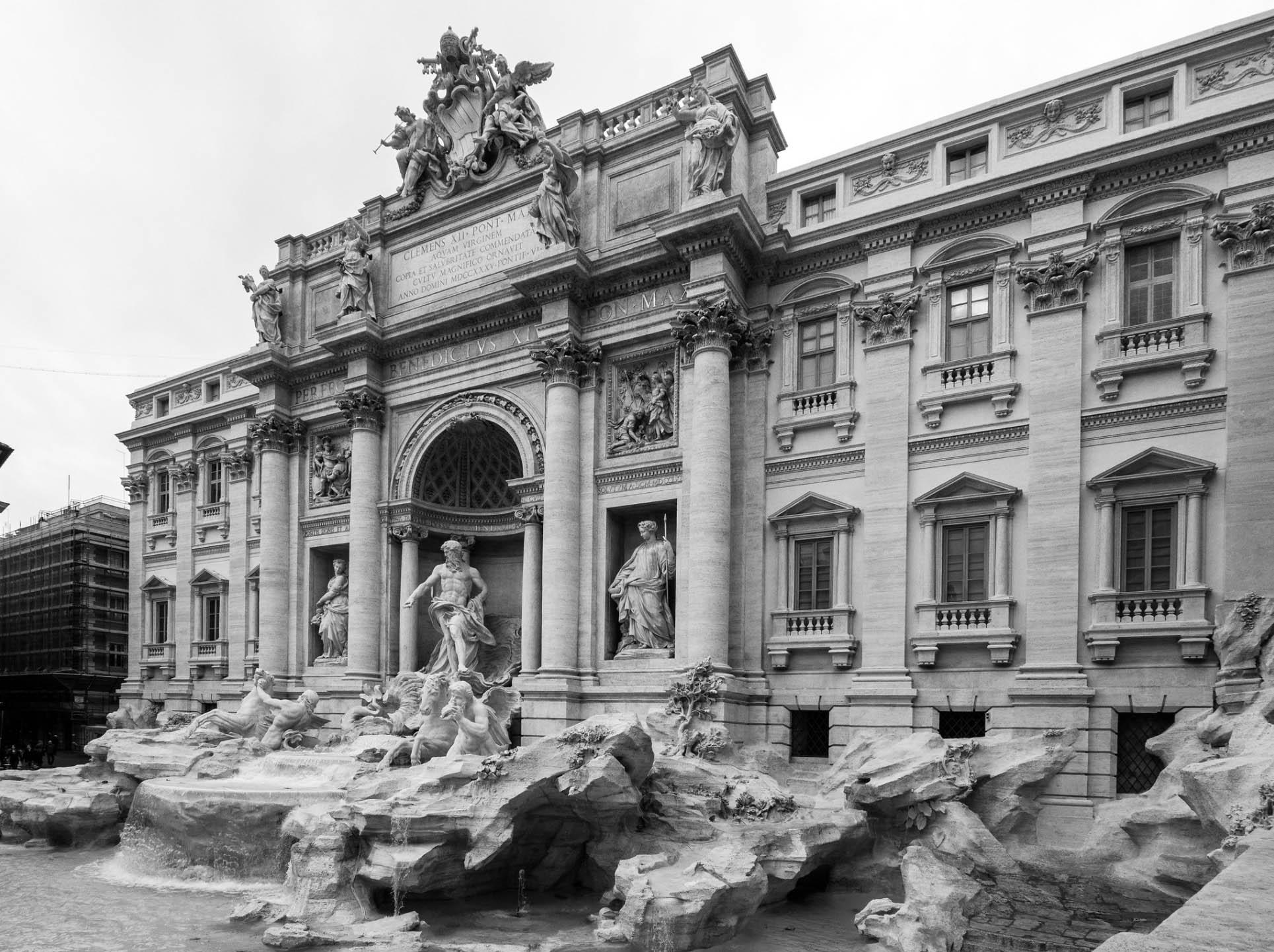 Fontana di Trevi - Rome individual tour