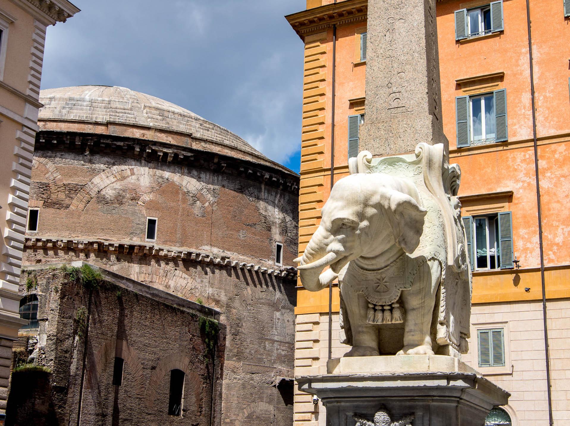 Obelisk of Santa Maria sopra Minerva - Rome