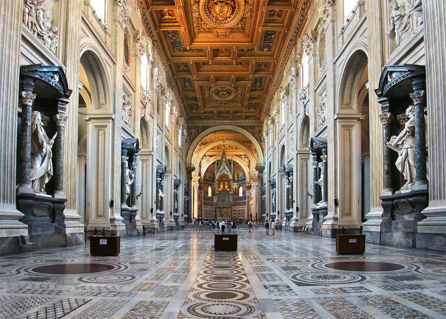Arci basilique San Giovanni in Laterano - Guide à Rome