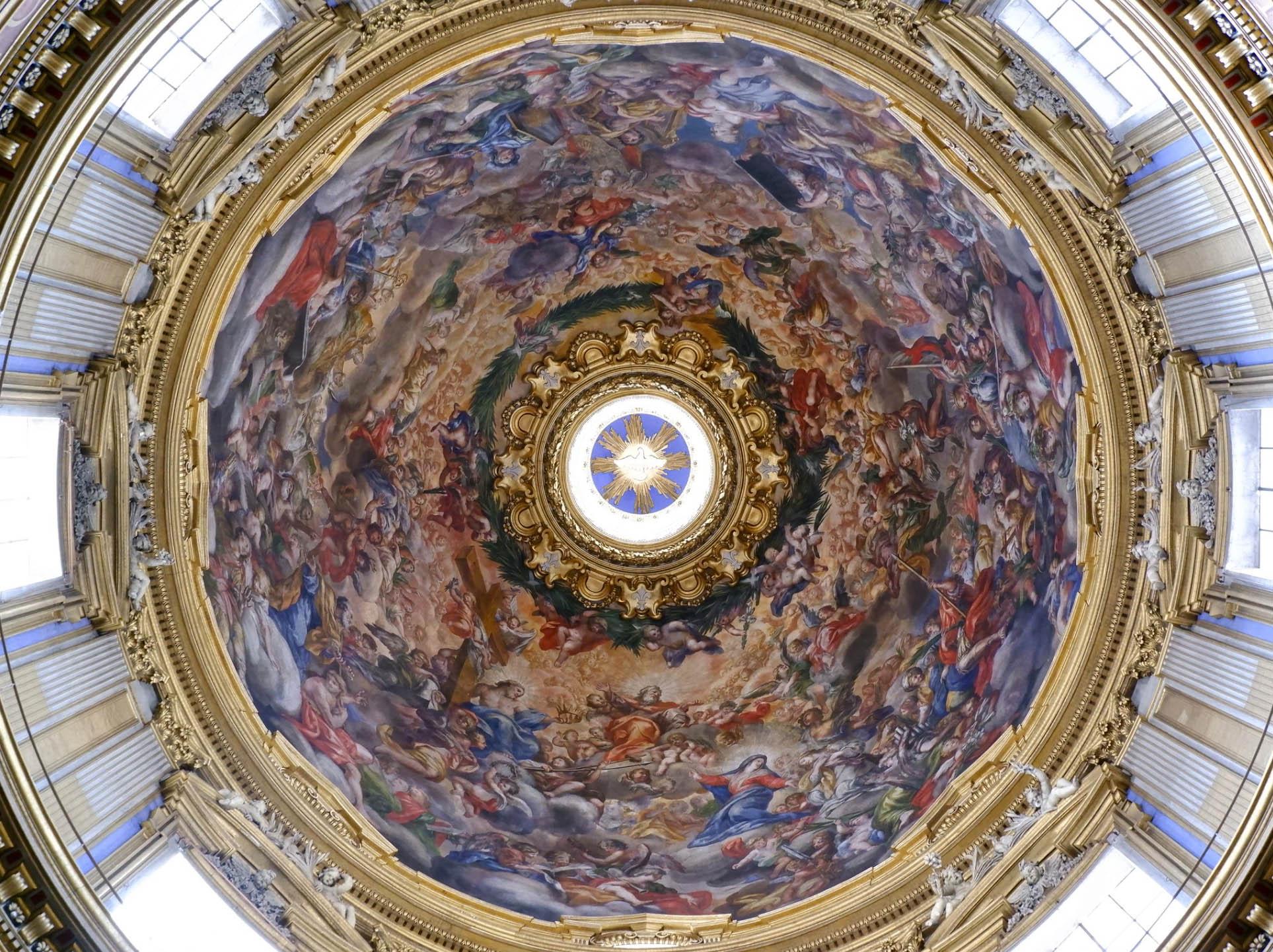 Dôme de la basilique de Sant'Agnese in Agone
