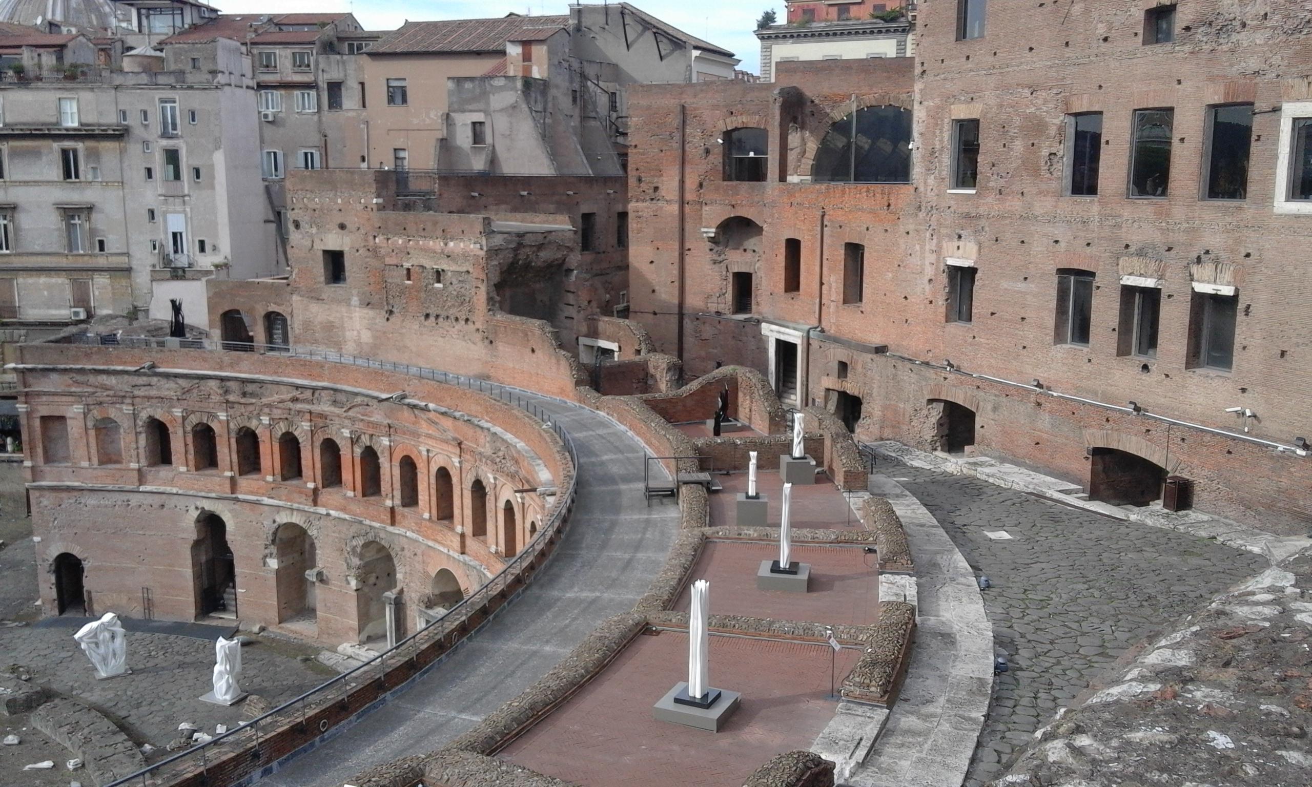 Marchés de Trajan à Rome - Excursion à Rome
