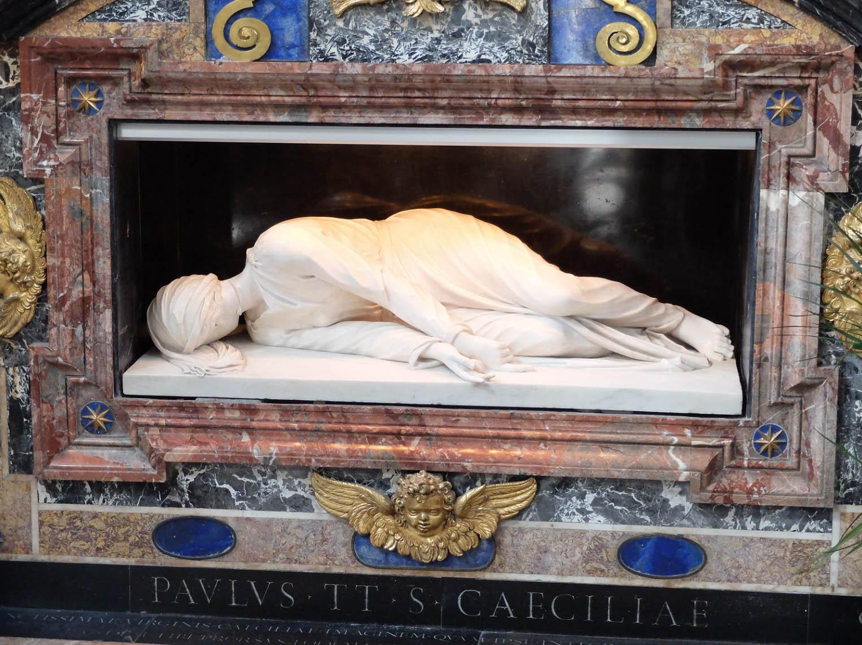 Santa Cecilia - Stefano Maderno - Excursion à Rome