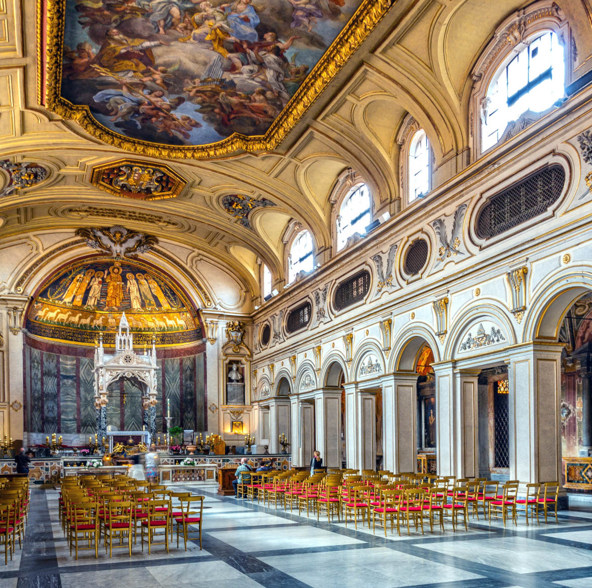 Santa Cecilia in Trastevere à Rome