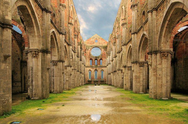 Abbaye de San Galgano - Visite privée en Toscane