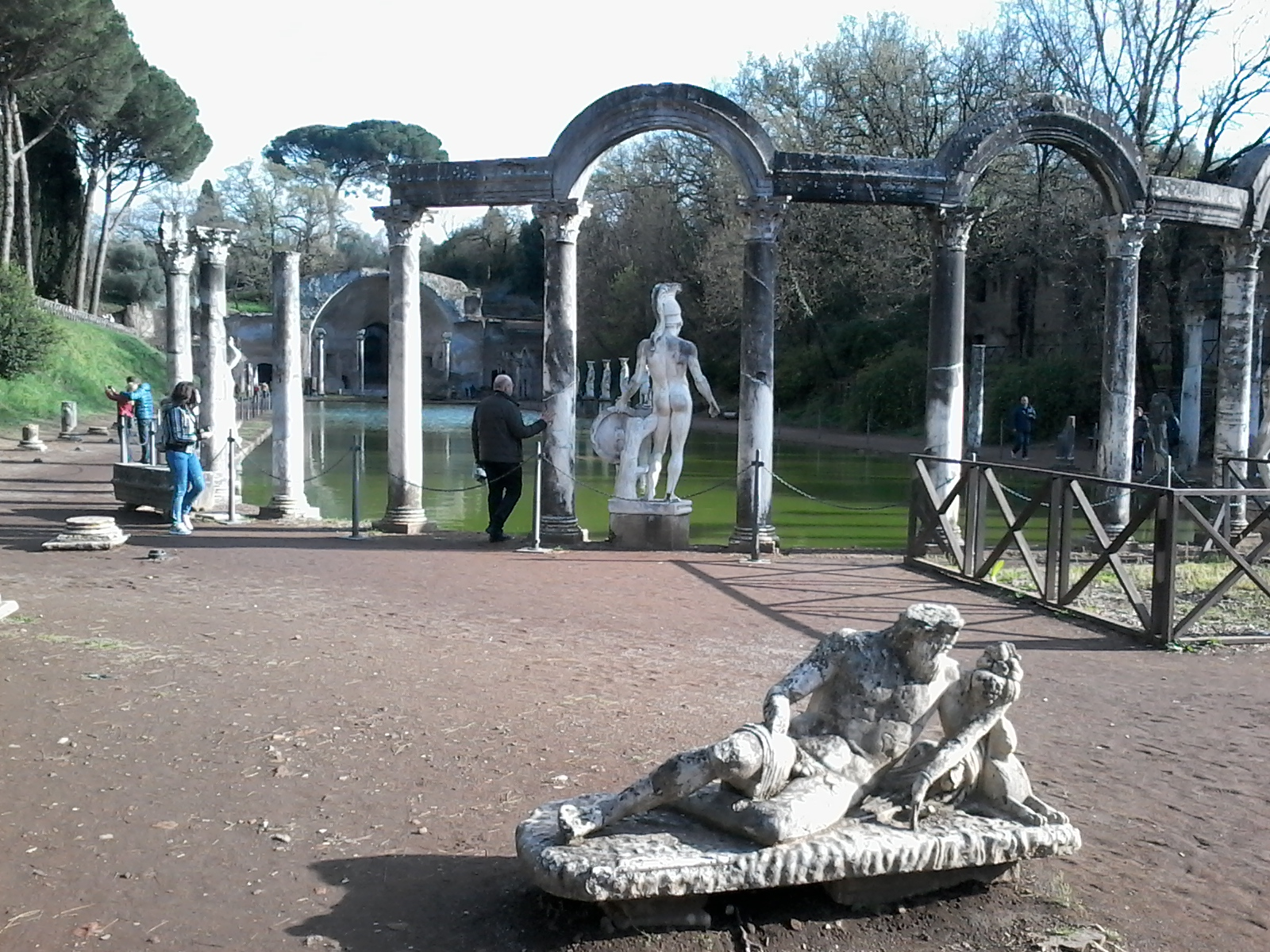 Excursions en Italie - Villa Adriana Tivoli