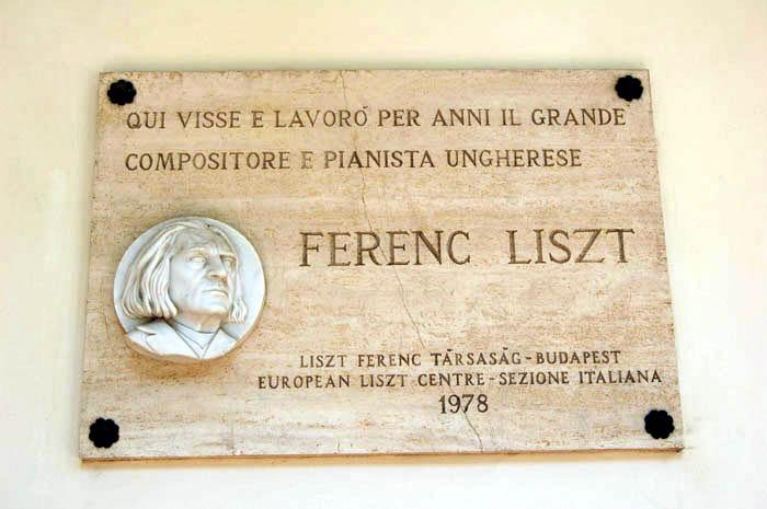 Ferenc Liszt Tivoli - Villa D'Este