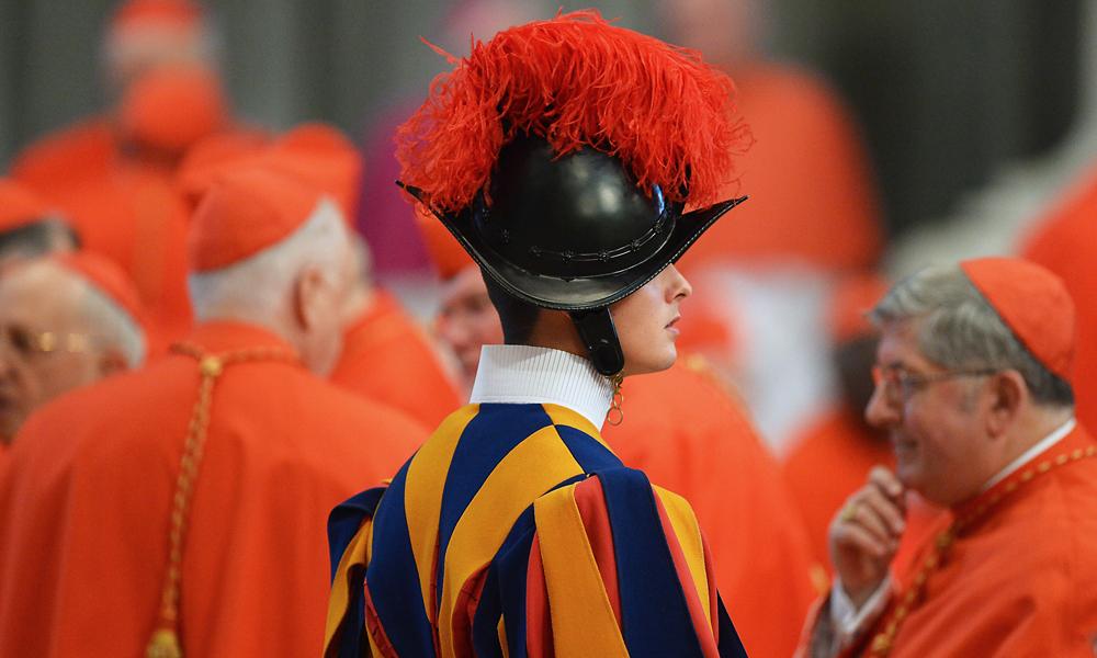 Gardes suisses - Visite au Vatican