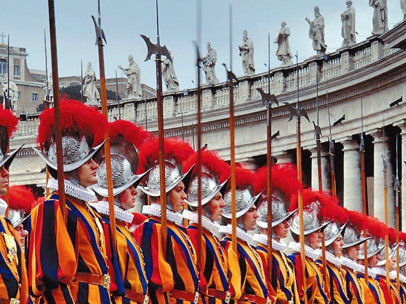 Gardes suisses en Vatican