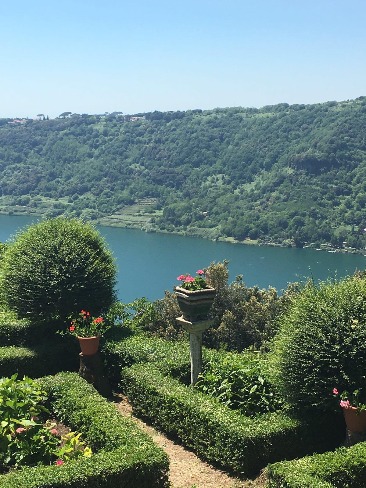 Lac de Nemi - Excursion au Château Romani