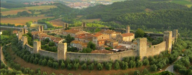 Monteriggioni - Siena - Excursions en Toscane