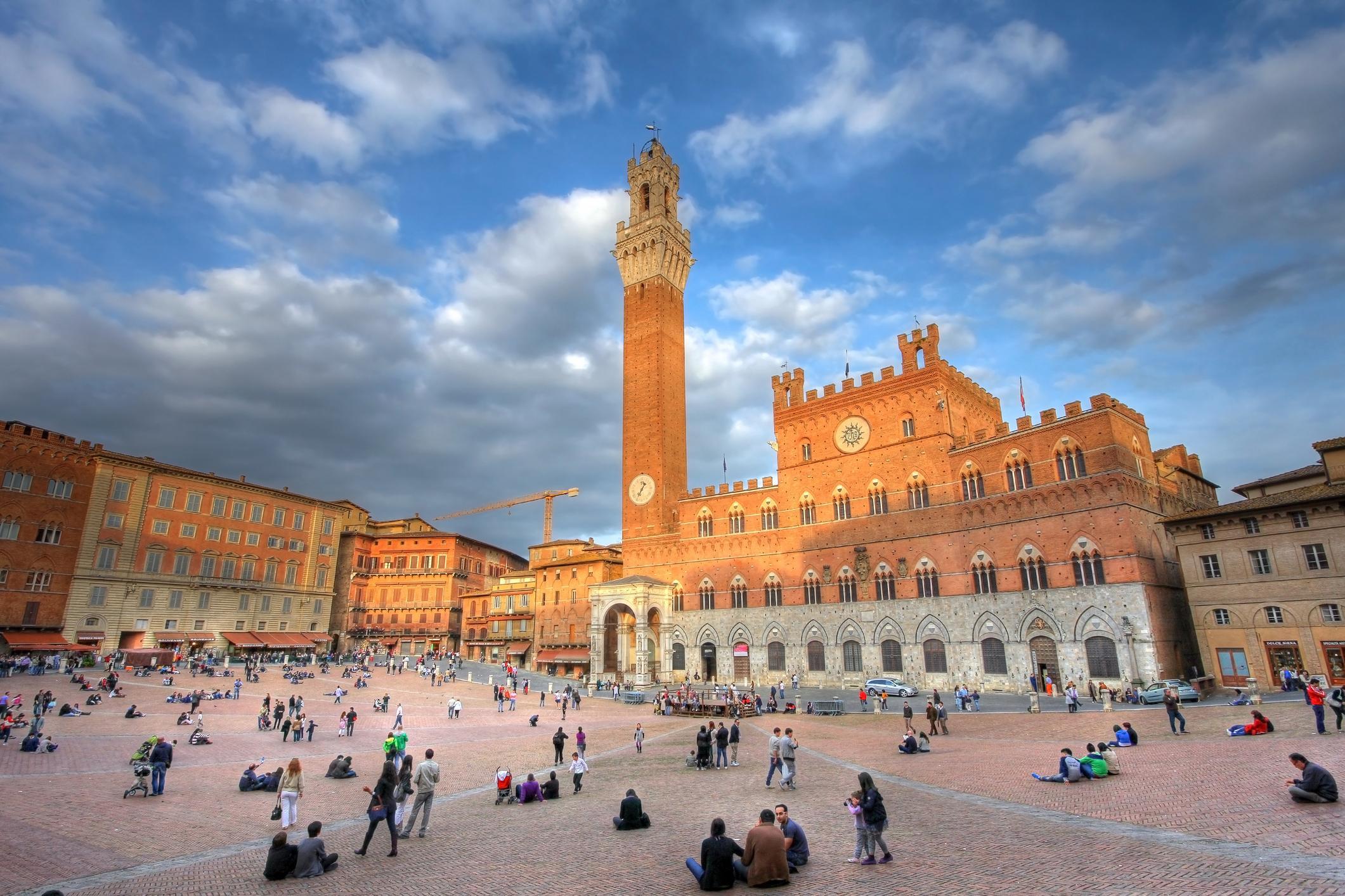 Piazza del Campo Sienne - Toscane