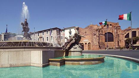 Place de la République - Visite guidée à Rome