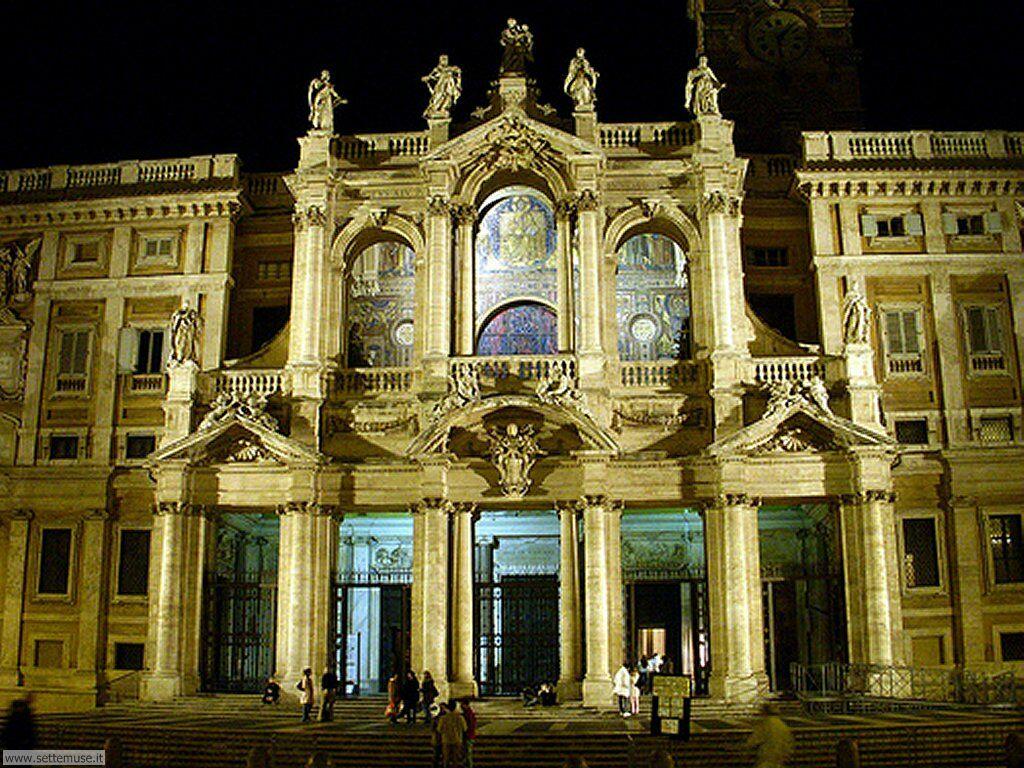 Rome nocturne - Santa Maria Maggiore