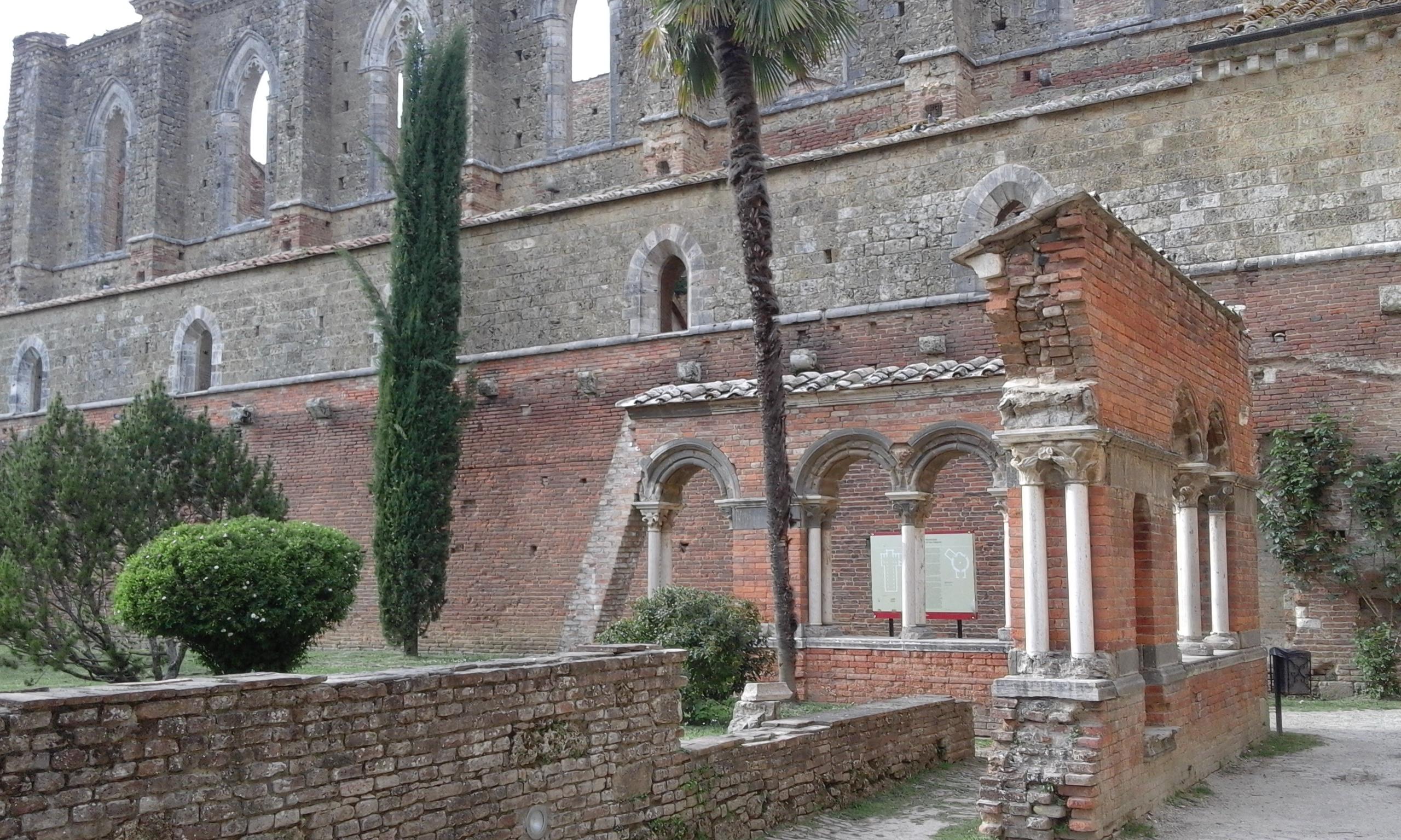 San Galgano - Toscane en français