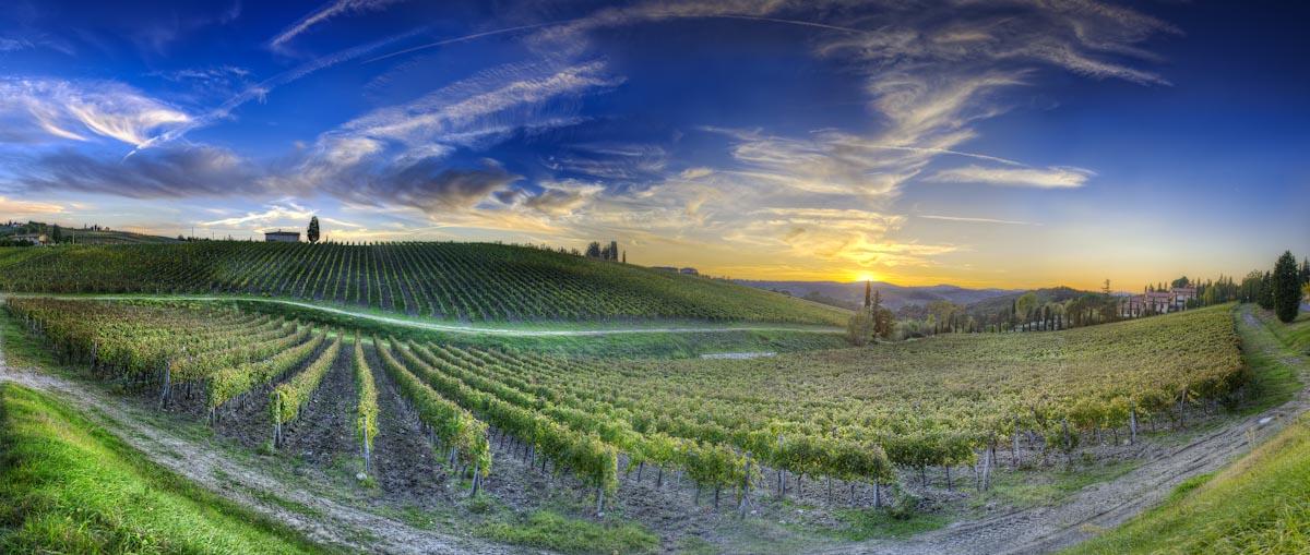 Toscane avec chauffeur guide