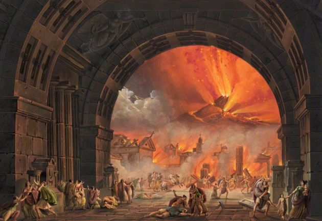 Unawareness costed dearly for Pompeii residents