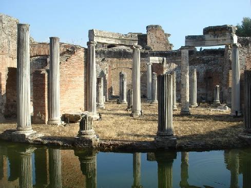 Villa Adriana Tivoli - Latium - Excursion en Italie