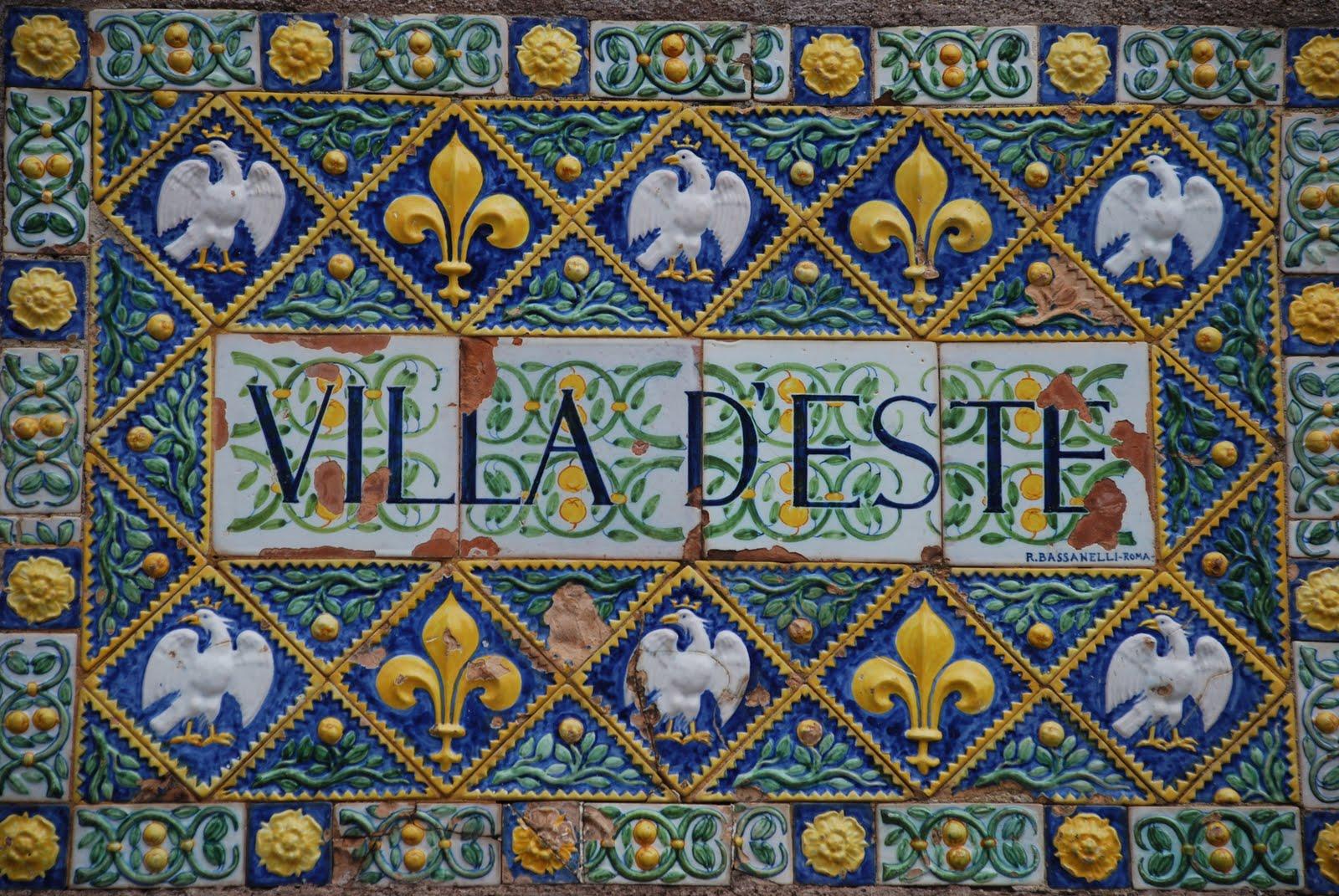 Villa D'Este - Tivoli - Latium